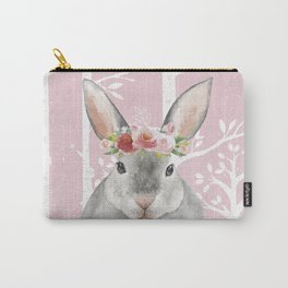 Animals in Forest - The little Bunny Carry-All Pouch