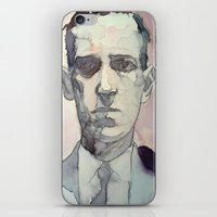lovecraft iPhone & iPod Skins featuring LOVECRAFT by Germania Marquez
