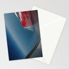deep blue skies Stationery Cards