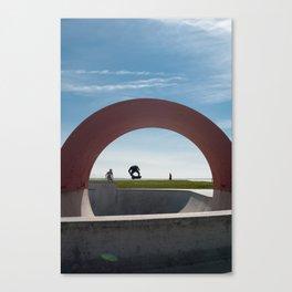 Big Gap, Saint Nazaire, France Canvas Print