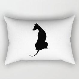 Pip at the Window Rectangular Pillow
