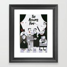 ADDAMS FAMILY Framed Art Print