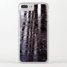 Morning Icicles Clear iPhone Case