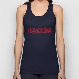 Hacker Unisex Tank Top