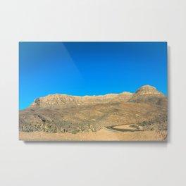 Arizona, árida y arenosa Metal Print