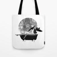 legs Tote Bags featuring legs by Cardula