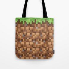 Minecraft Dirt Block Tote Bag