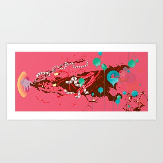 Nervo Art Print