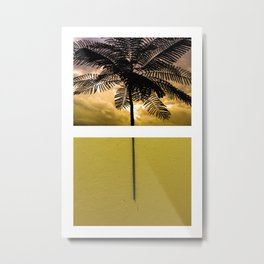 Pull Sunset Metal Print