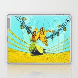 Luchador Lime Laptop & iPad Skin
