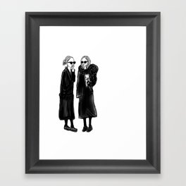 mary-kate n ashley 4 eva Framed Art Print
