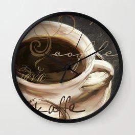 Le Cafe II Wall Clock