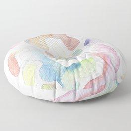 171115 Colour Shape 8 |abstract shapes art design colour |shapes art abstract |shapes art design Floor Pillow