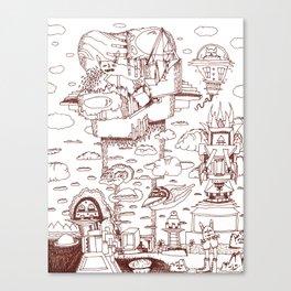Childhood Dreams Canvas Print