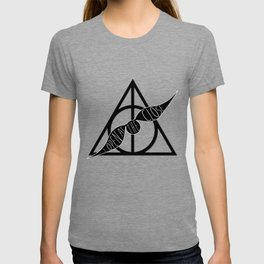 I Open At The Close Deathly Hallows Snitch T-shirt