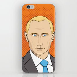 Vladimir Putin portrait iPhone Skin