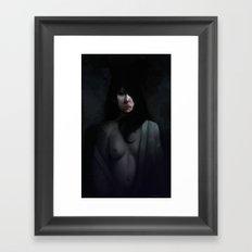 Portrait of Ikuko's Ghost Framed Art Print