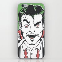 dracula iPhone & iPod Skins featuring Dracula by NathanJoyce