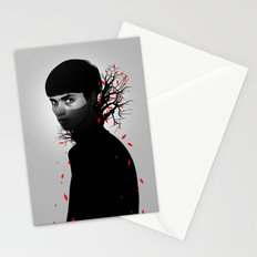Black & Red Stationery Cards