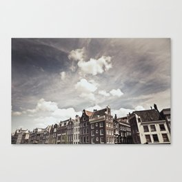 Amsterdam Clouds Two Canvas Print