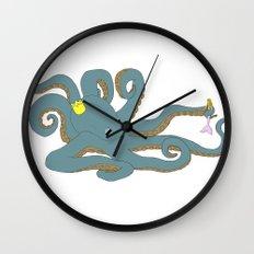 Octobarbie Wall Clock