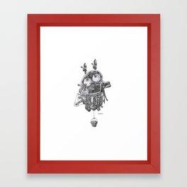 Kidney! Framed Art Print