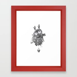Kidney! Framed Art Print