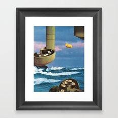 the hanging gardens Framed Art Print