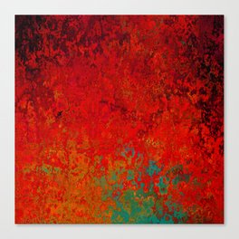 Figuratively Speaking, Abstract Art Canvas Print