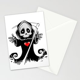 Hug Reaper Stationery Cards