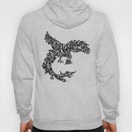 Kanji Calligraphy Art :phoenix Hoody