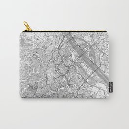 Vienna Map Line Carry-All Pouch
