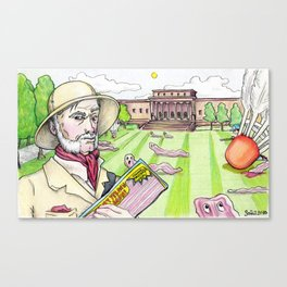 Colonel Mustard, Nelson-Atkins Museum of Art, Bacon Canvas Print