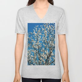 Spring Blossom VI Unisex V-Neck