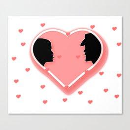 Valentine's Day_Special_Design Canvas Print