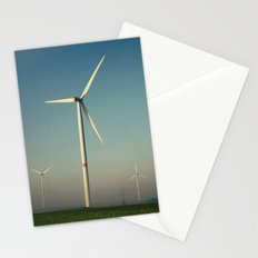 Windmills in the Sun Stationery Cards
