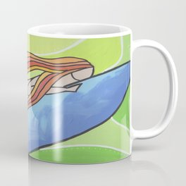 duck diving Coffee Mug