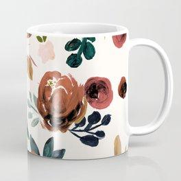 Valentina Vintage Rust Rose Coffee Mug