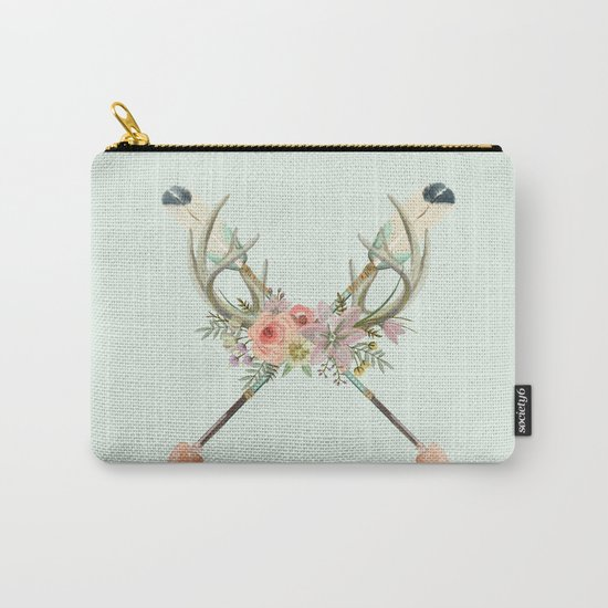 arrows and flowers Carry-All Pouch
