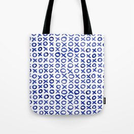 Xoxo valentine's day - blue Tote Bag