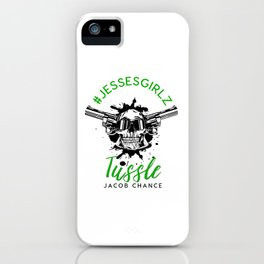 Tussle By Jacob Chance iPhone Case