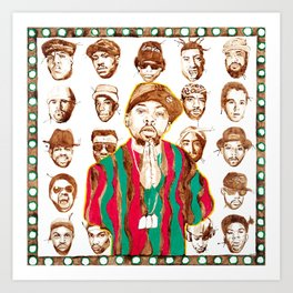 Paradise Marauders (A Tribe Called Quest Tribute) Art Print