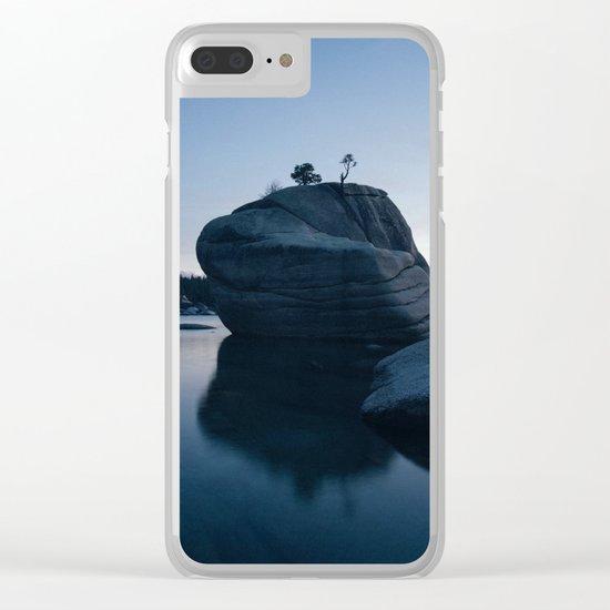 Rocks Landscape Boulder Clear iPhone Case