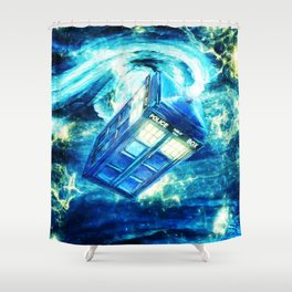 Tardis Shower Curtain