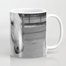 Horse In Black And White Coffee Mug