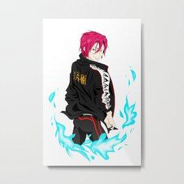 Rin Metal Print