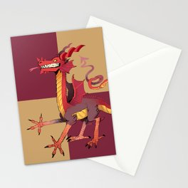 wow dragon Stationery Cards