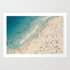 beach love V Art Print
