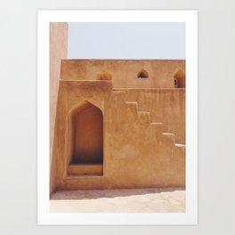Jabreen Castle in Bahla, Oman #1 Art Print