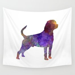Rottweiler in watercolor Wall Tapestry